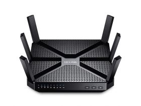 Router wireless TP-Link Archer C3200, Tri-Band Gigabit