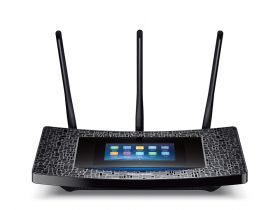 Router wireless TP-Link Touch P5, AC1900, Touchscreen, Gigabit