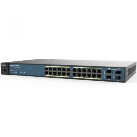 Wireless Management 50AP 24-port GbE PoE.at Switch 410W 4SFP L2 19i